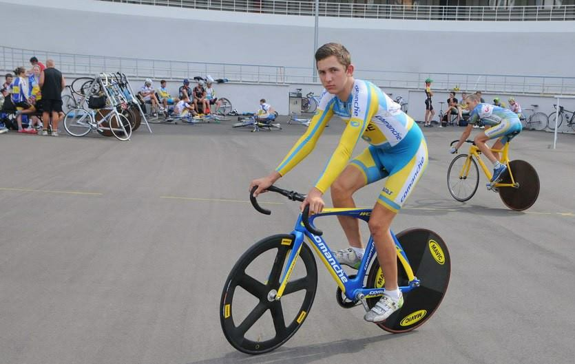 Чемпионат Украины среди юниоров на киевском велотреке